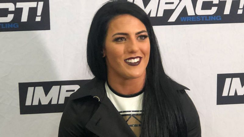 Tessa Blanchard is the first female wrestler to win the IMPACT World Championship