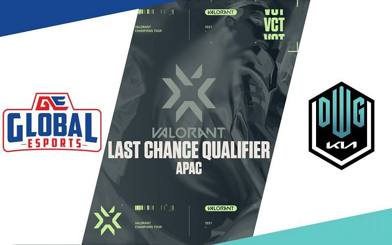 Global Esports and Damwon Gaming in Valorant Champions TourAPAC Last Chance qualifier (Image via Sportskeeda)