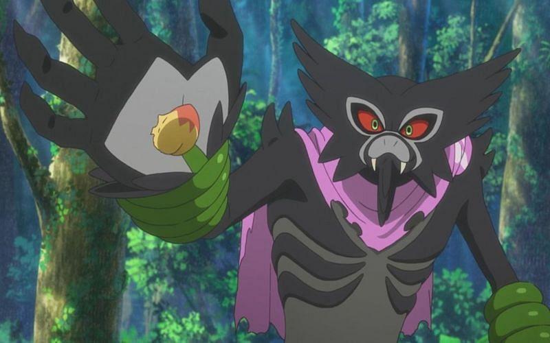 ज़ारूड जंगल हीलिंग नामक एक पुनर्प्राप्ति चाल सीख सकता है (पोकेमॉन कंपनी के माध्यम से छवि)