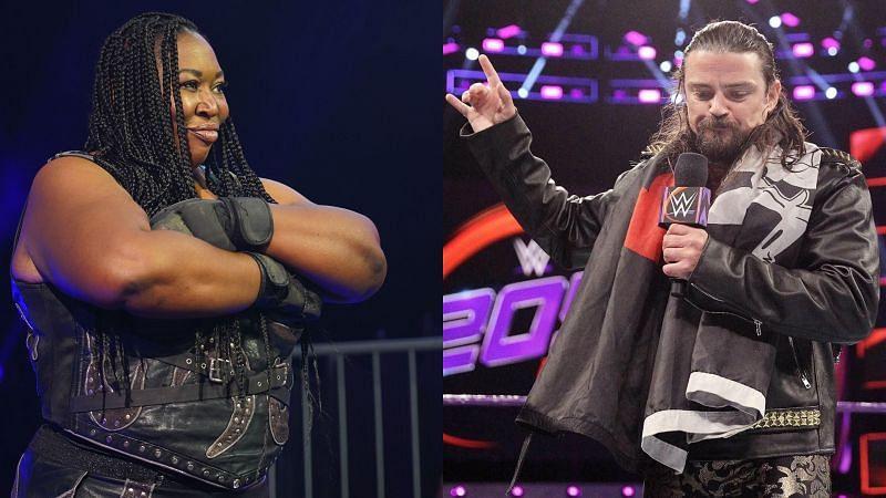 Former WWE Superstars Kharma and Brian Kendrick