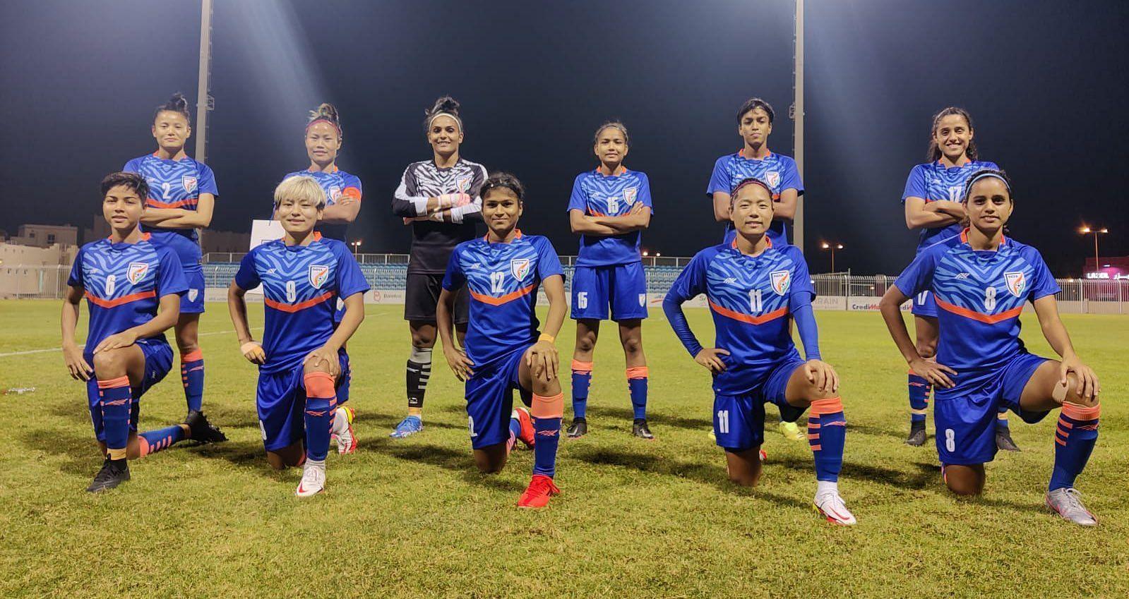 महिला फुटबॉल टीम ने ऊंची रैंकिंग वाली चीनी ताइपे को करारी शिकस्त दी।