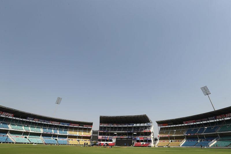 A look at the Vidarbha Cricket Association Stadium