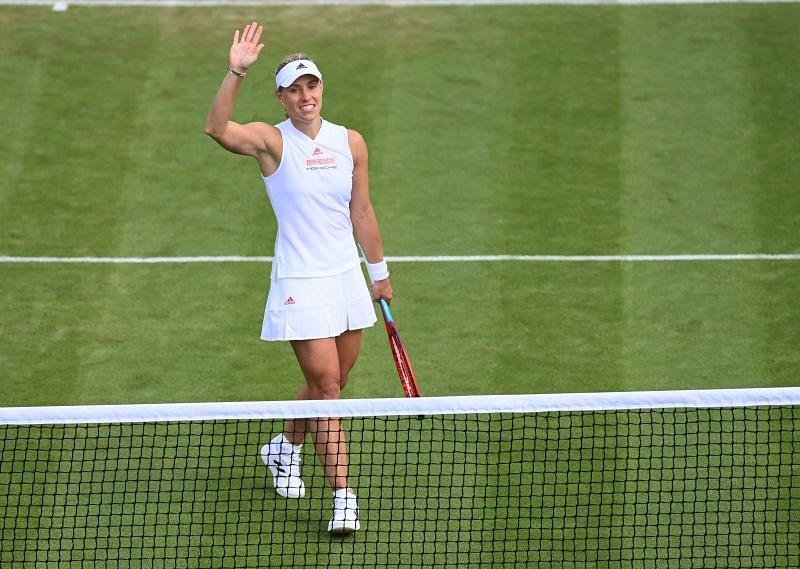 Angelique Kerber at the 2021 Wimbledon Championships