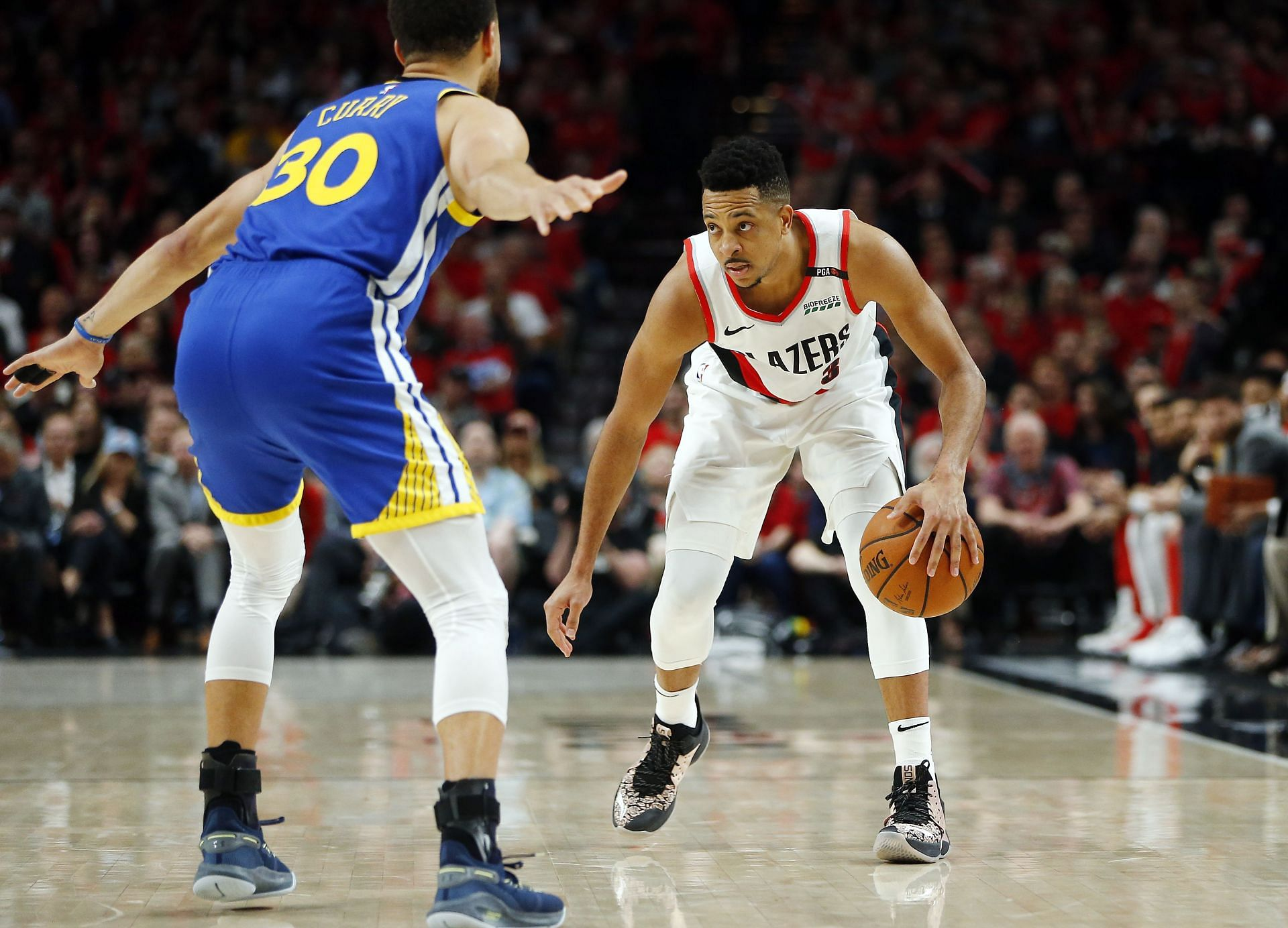The Portland Trail Blazers visit the Golden State Warriors for the final day of the 2021-22 NBA Preseason.