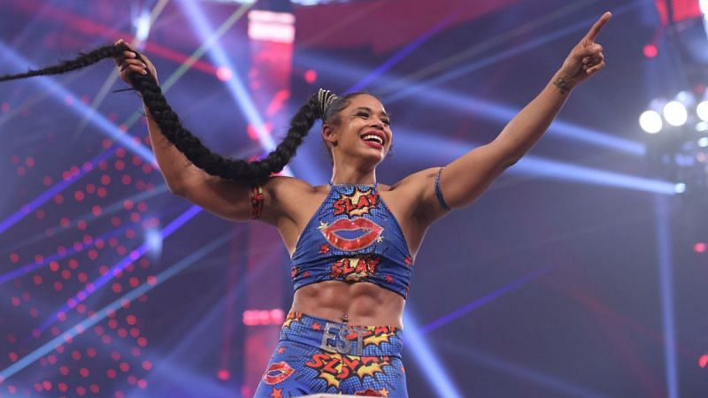 What happened with Bianca Belair last night on WWE RAW?