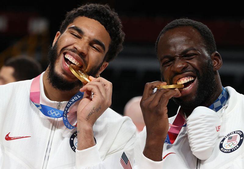 पुरुषों का बास्केटबॉल पदक समारोह: दिन १५