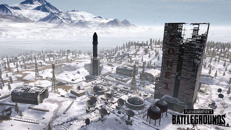Cosmodrome in BGMI (Image via Krafton)