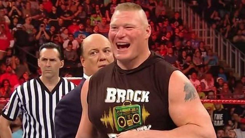 WWE दिग्गज ने ब्रॉक लैसनर को लेकर दिया बड़ा बयान