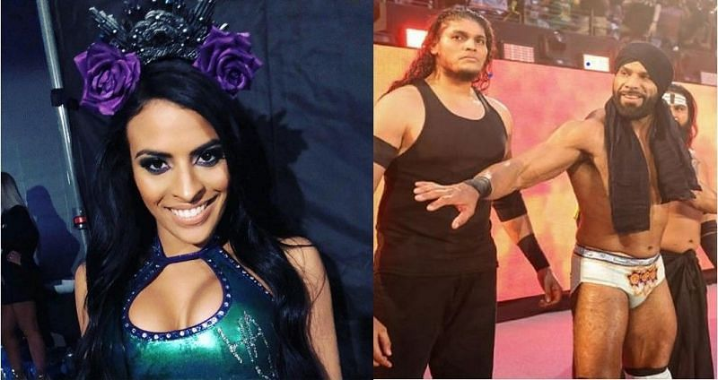 Zelina Vega and Shanky are yet to win a Championship in WWE