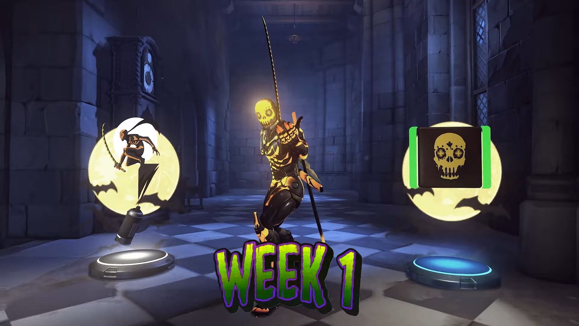 Genji is the first skin to unlock. (Image via Blizzard)