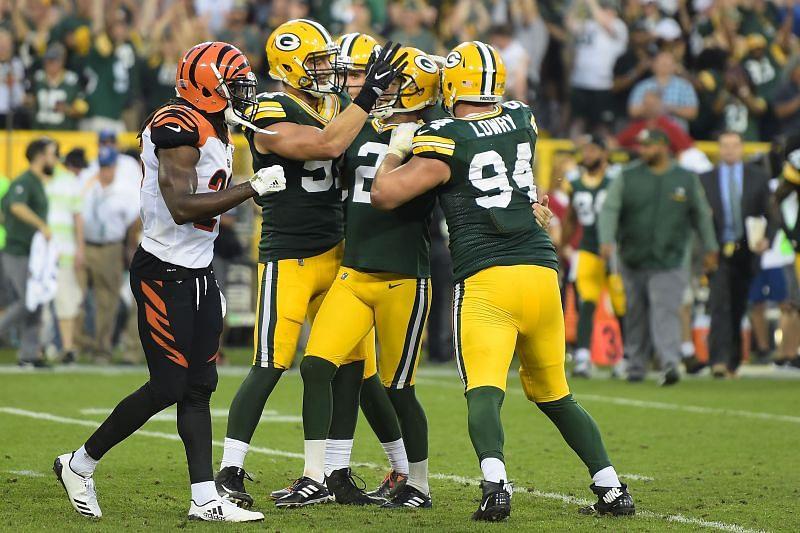 Cincinnati Bengals vs. Green Bay Packers (2017)