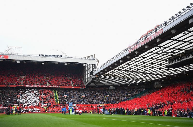 Manchester United's home, Old Trafford.