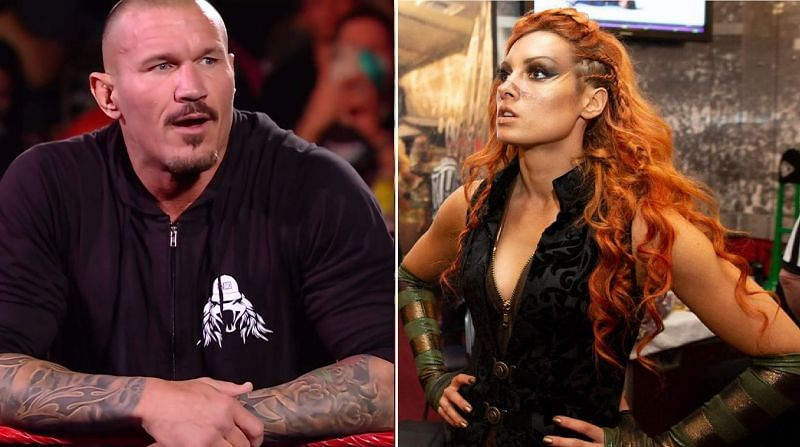 Randy Orton and Becky Lynch have nothing but respect for each other