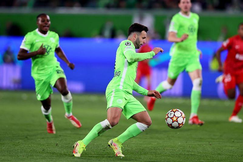 VfL Wolfsburg play Borussia Monchengladbach in a Bundesliga game on Saturday