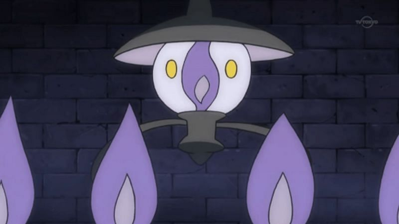 Lampent as it appears in the anime (Image via The Pokemon Company)