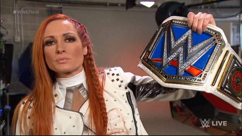 Becky Lynch took shots at Flair, Sasha, and Bianca during her RAW promo