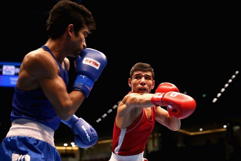 Shiva Thapa to star at the world boxing championships.