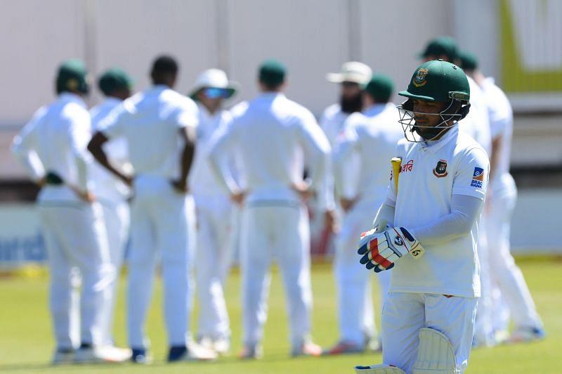 South Africa v Bangladesh - Day 3