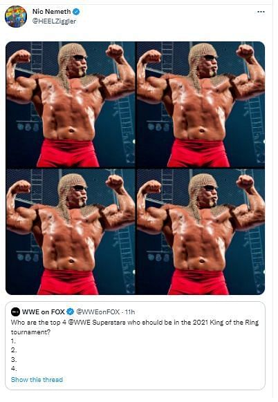 Dolph Ziggler wants to see Scott Steiner in the King of the Ring Tournament