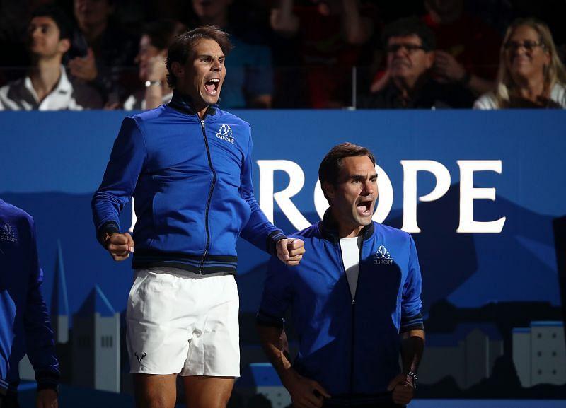 <a href='https://www.sportskeeda.com/player/rafael-nadal' target='_blank' rel='noopener noreferrer'>Rafael Nadal</a> and <a href='https://www.sportskeeda.com/player/roger-federer' target='_blank' rel='noopener noreferrer'>Roger Federer</a> recently joined hands for a good cause