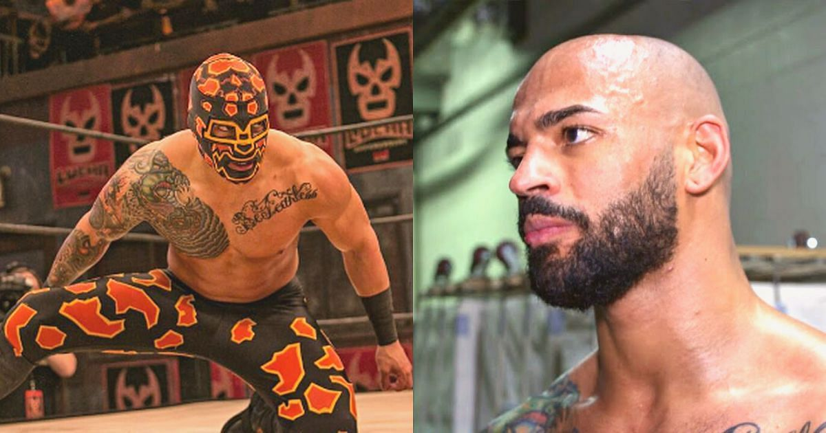 Ricochet performed as Prince Puma at Lucha Underground.
