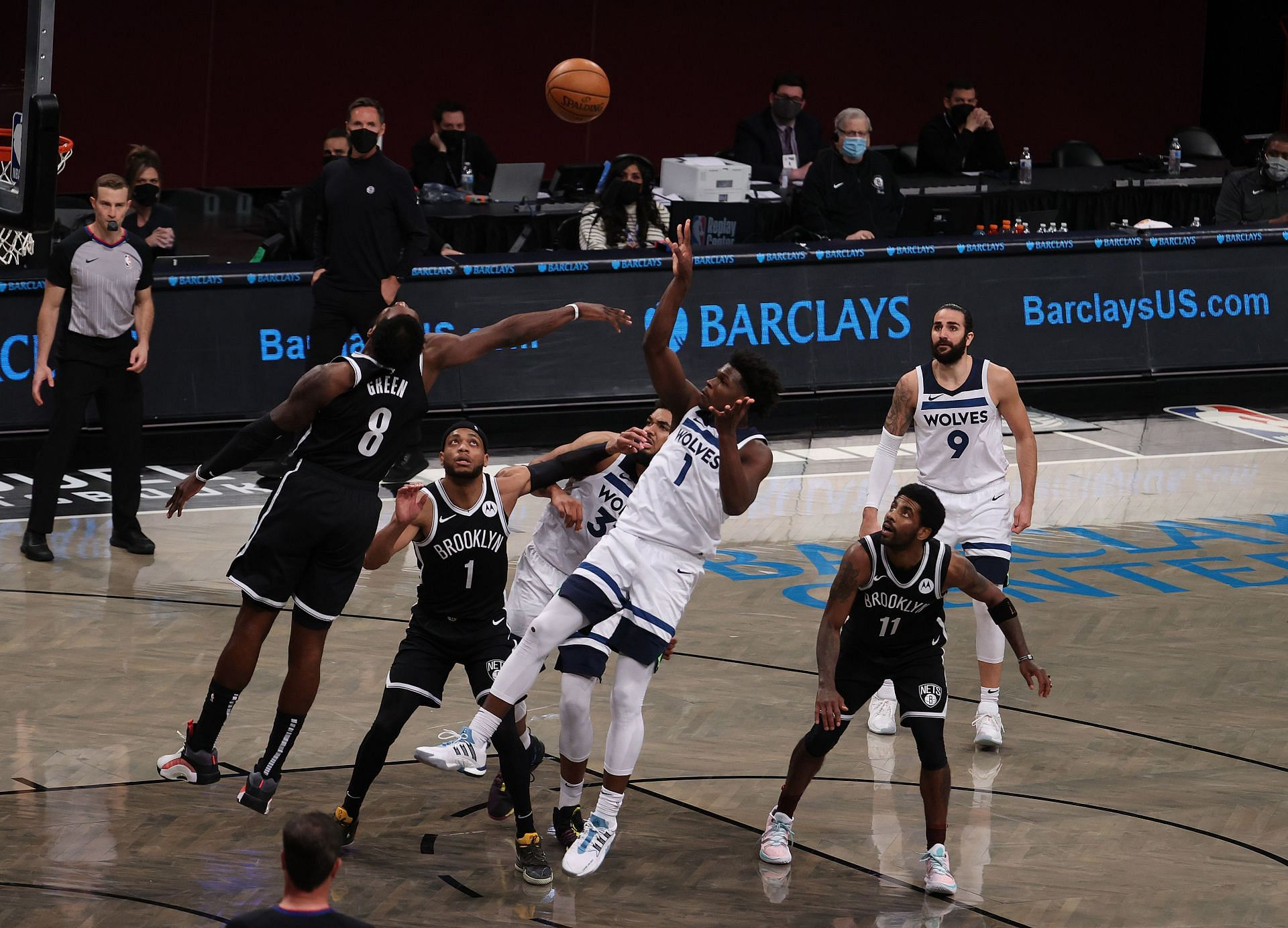 The Minnesota Timberwolves and the Brooklyn Nets will square off in an exhibition game at the Barclays Center on Thursday