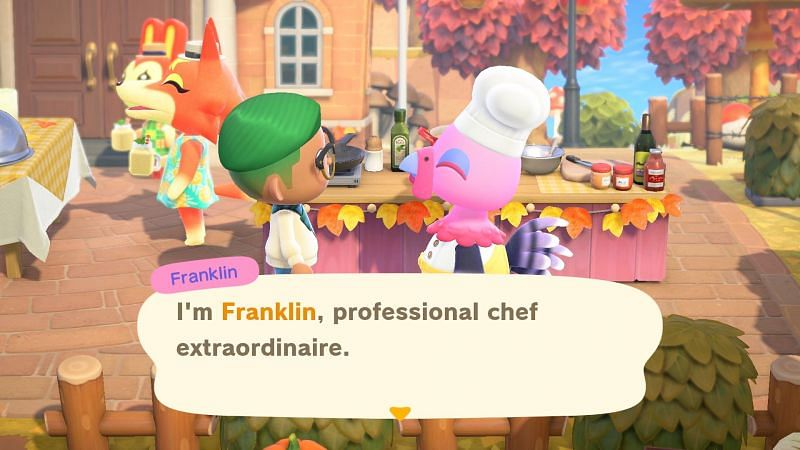 Turkey Day is one of the most popular seasonal events (Image via Nintendo)