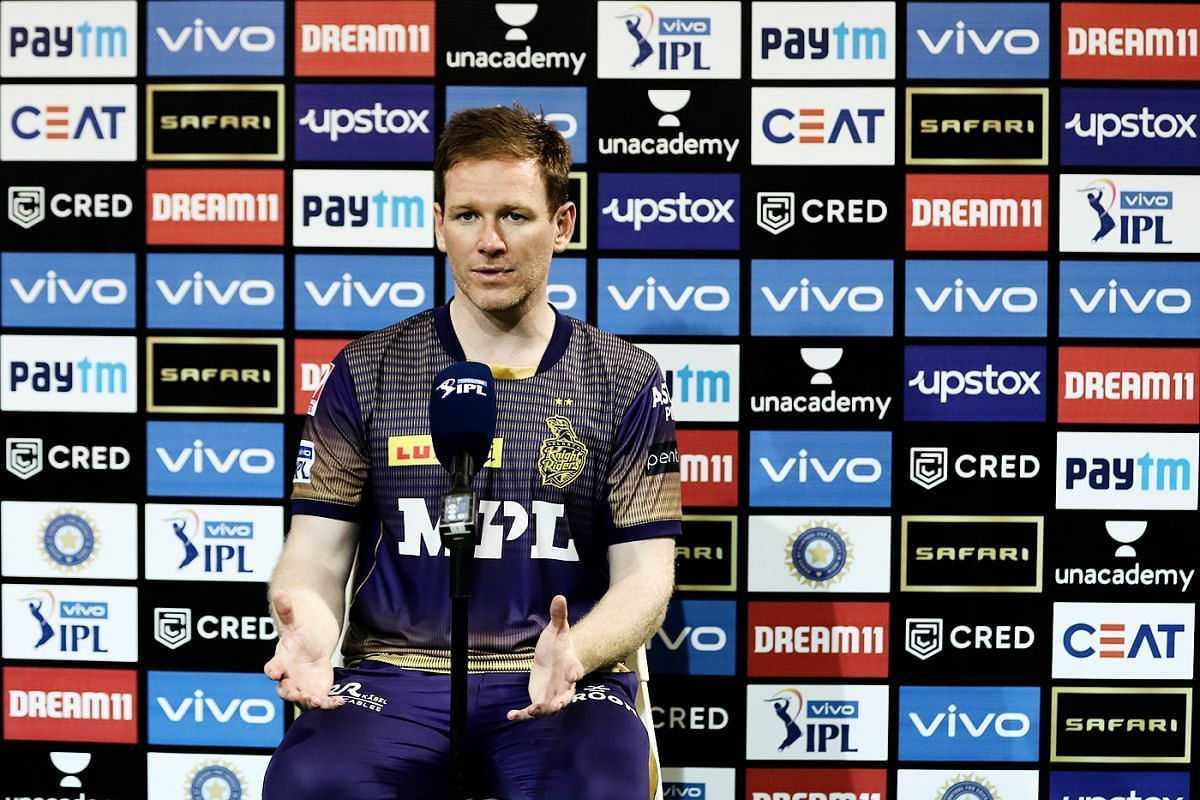 Eoin Morgan believes KKR can beat CSK in the final (Credit: BCCI/IPL).