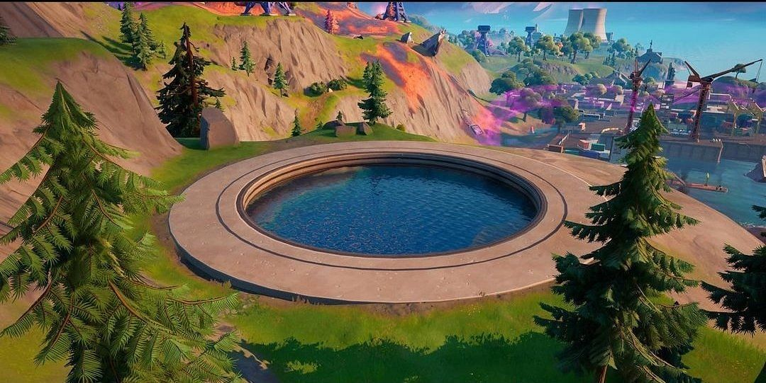 The Grotto will return in Fortnite Chapter 2 Season 8 (Image via Cyber/Twitter)