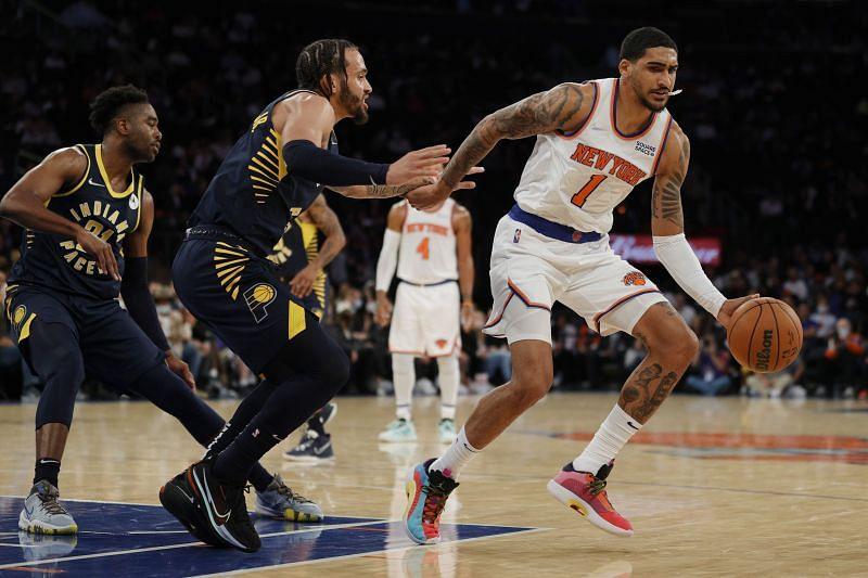 New York Knicks power forward Obi Toppin #1
