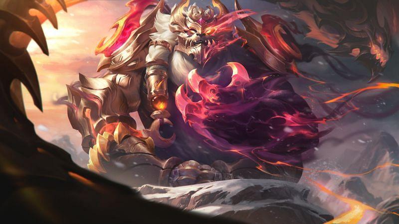 Prestige Dragonmancer Volibear (Image via League of Legends)