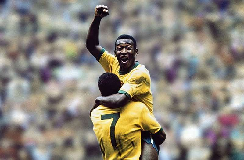 Pele bagged seven hat-tricks for Brazil during his playing days.
