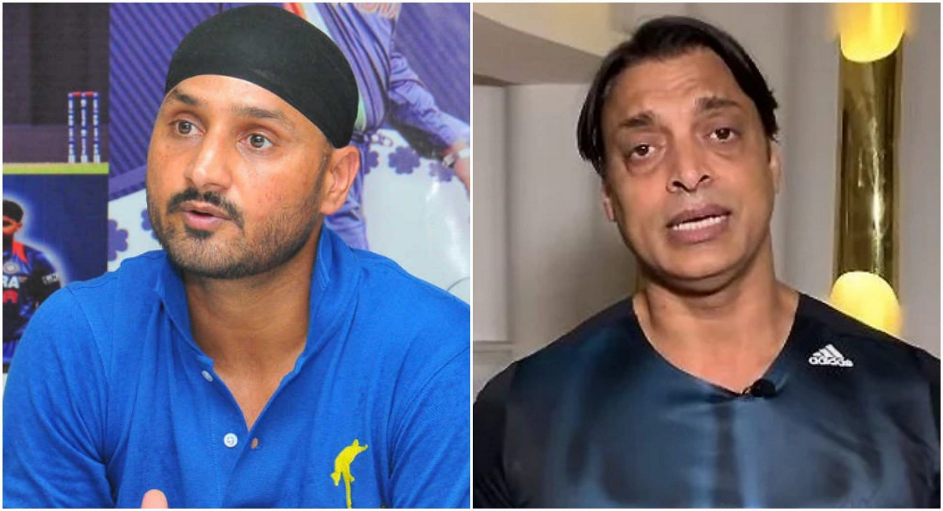 हरभजन सिंह ने शोएब अख्तर का जिक्र करते हुए भारतीय टीम को जीत का दावेदार बताया