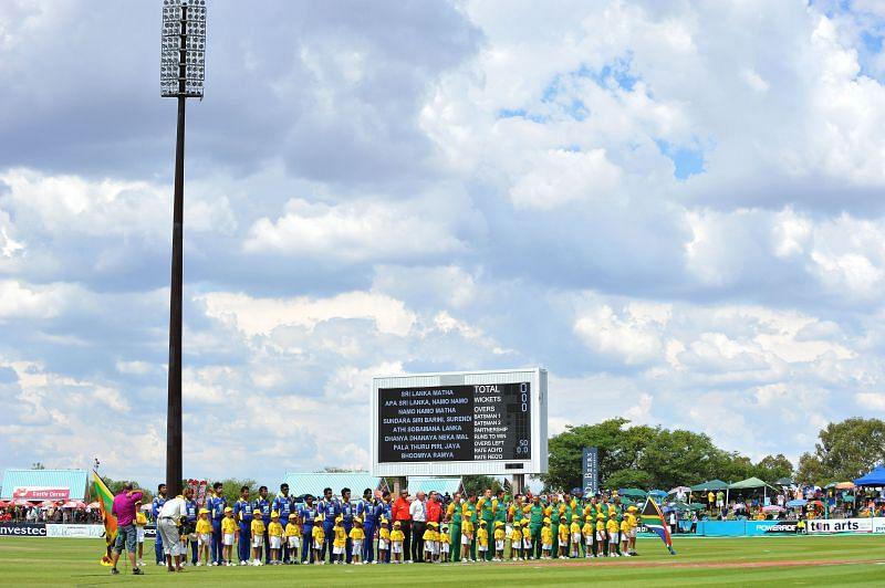 South Africa v Sri Lanka - Fourth One Day International