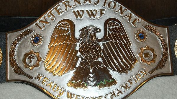 The International Heavyweight Championship was a signal of a NJPW/WWF working relationship.
