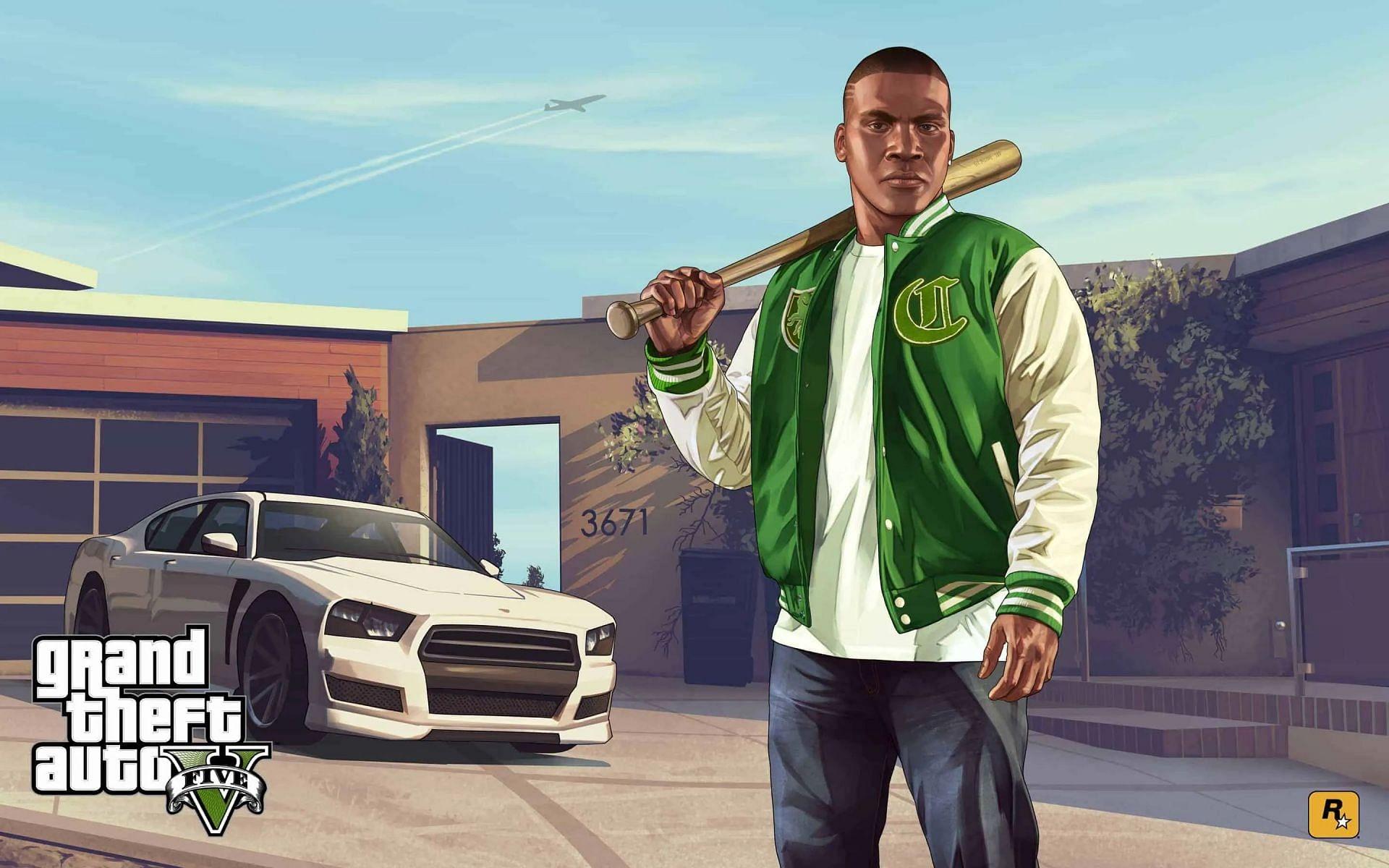 Franklin from GTA 5 (Image via Rockstar)