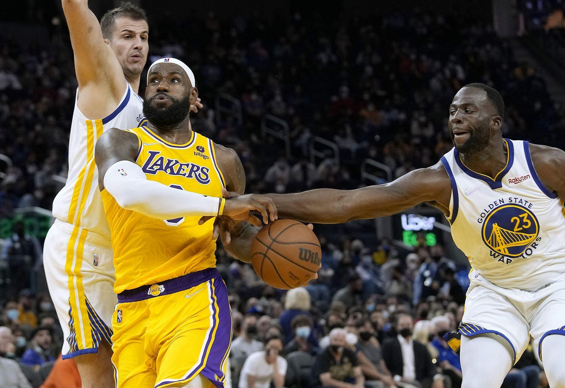 LA Lakers vs Golden State Warriors