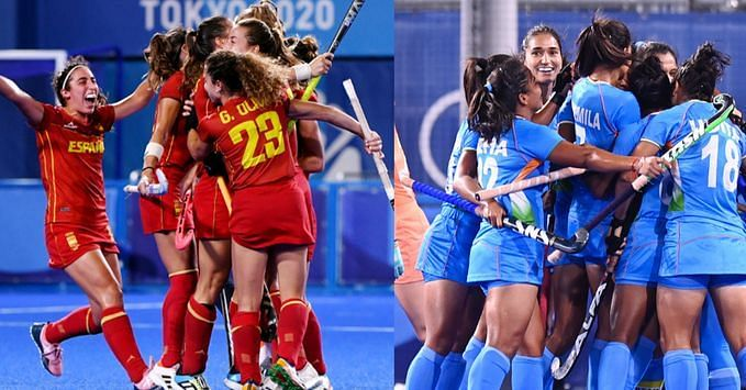 Spain (L) & India to compete in upcoming women's FIH Hockey Pro League