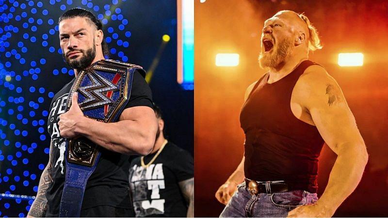 WWE SmackDown में इस हफ्ते ब्रॉक लैसनर को वापसी करके यूनिवर्सल चैंपियन रोमन रेंस का जरूर सामना करना चाहिए