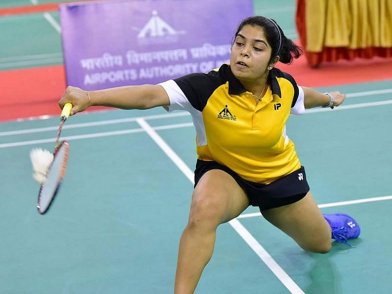 Eighth seed Aakarshi Kashyap will face a qualifier in the women's singles first round
