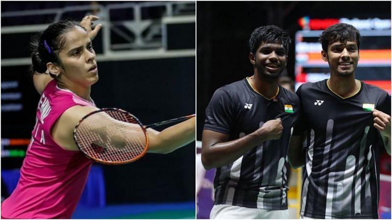 Thomas and Uber Cup 2021: Saina Nehwal and R. Satwiksairaj/ Chirag Shetty