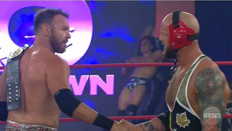 IMPACT Wrestling's main-event featured Christian Cage and Josh Alexander teaming up