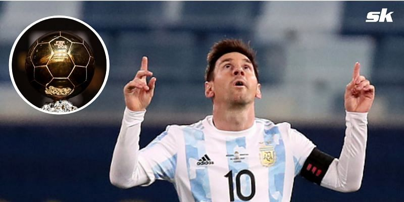 PSG attacker Lionel Messi is one of the frontrunners for the 2021 Ballon d'Or