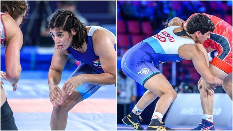 Wrestling World Championships: Sarita Mor, Anshu Malik advance to the semifinal
