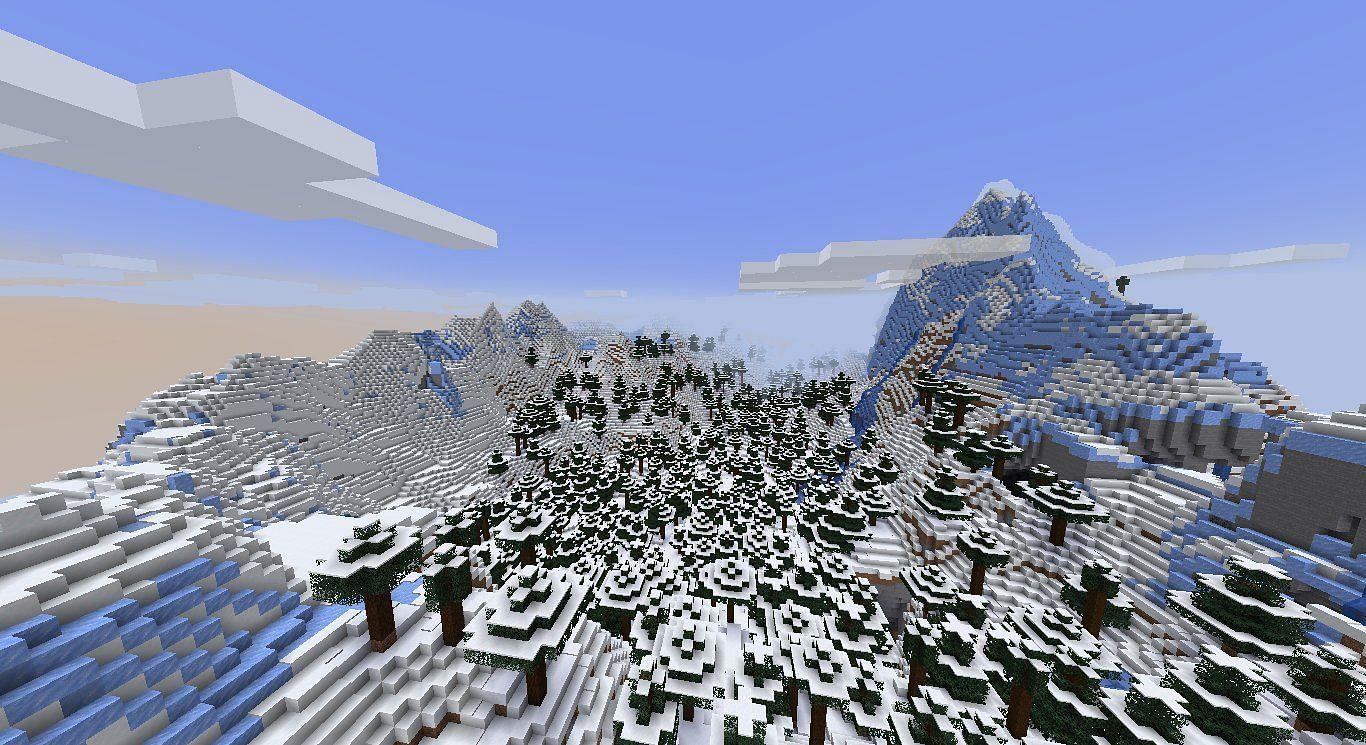 New 1.18 snapshot (Image via Minecraft)