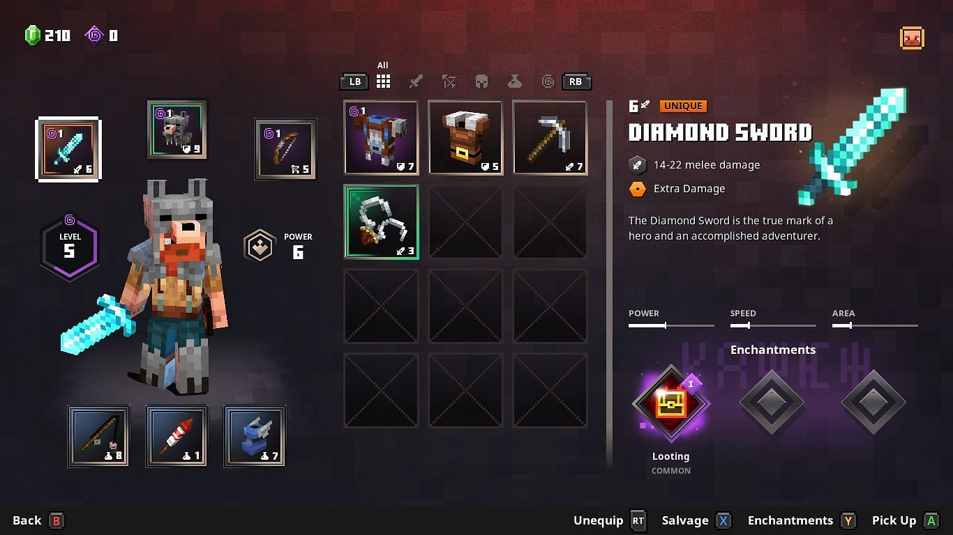 An early-game build featuring a diamond sword as a melee weapon (Image via Mojang/Reddit user Spiderguy20)