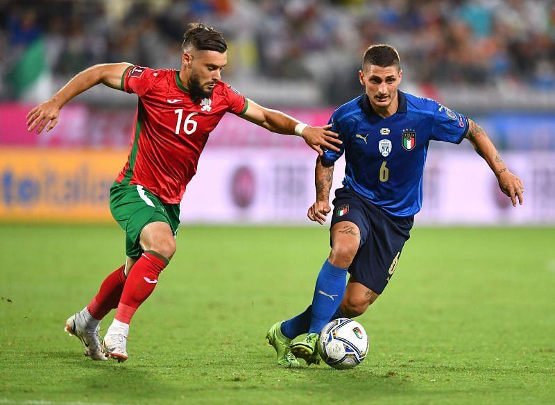Italia - Bulgaria - Clasificatorios al Mundial 2022