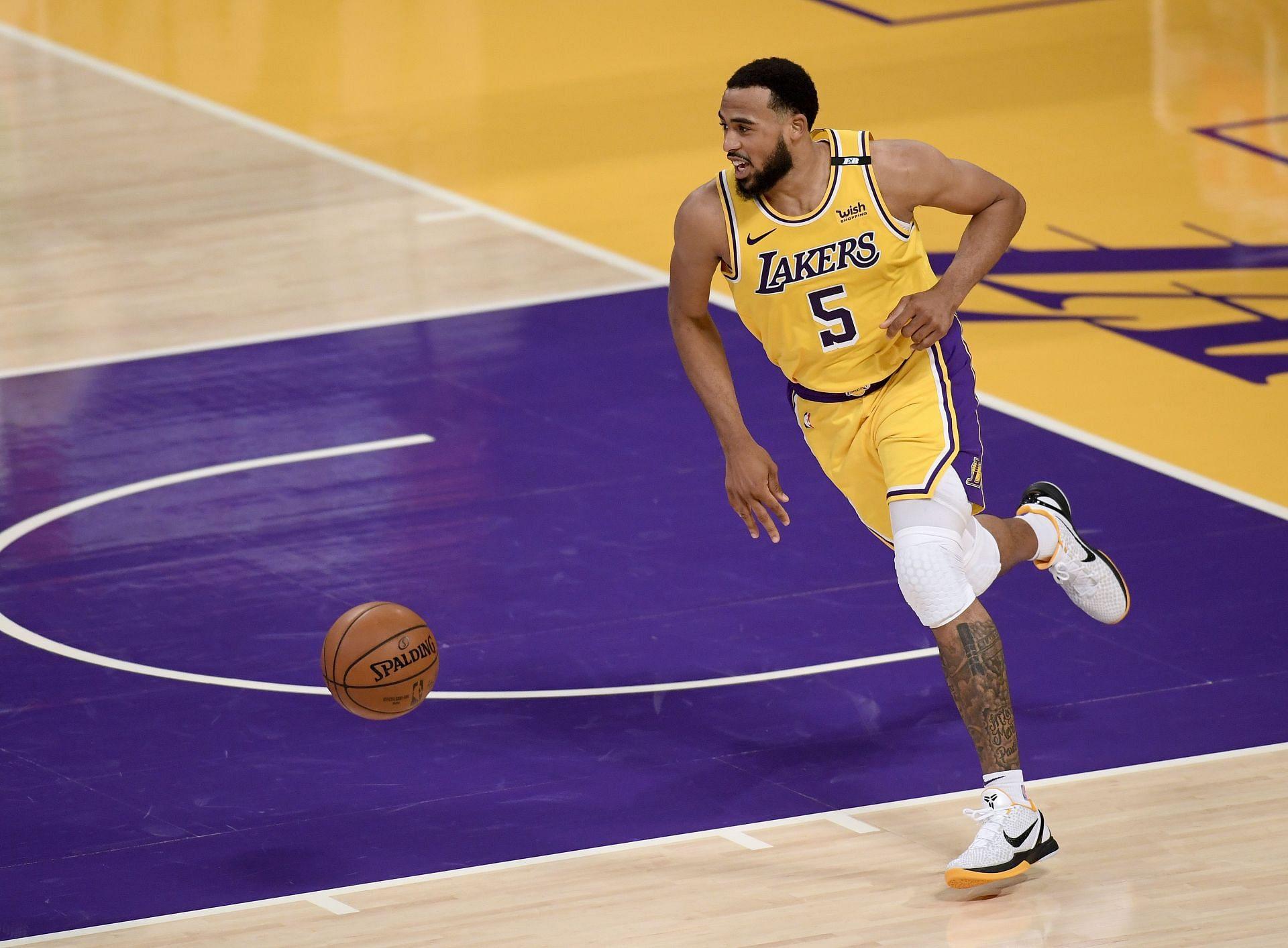 The LA Lakers gave Talen Horton-Tucker a three-year extension.