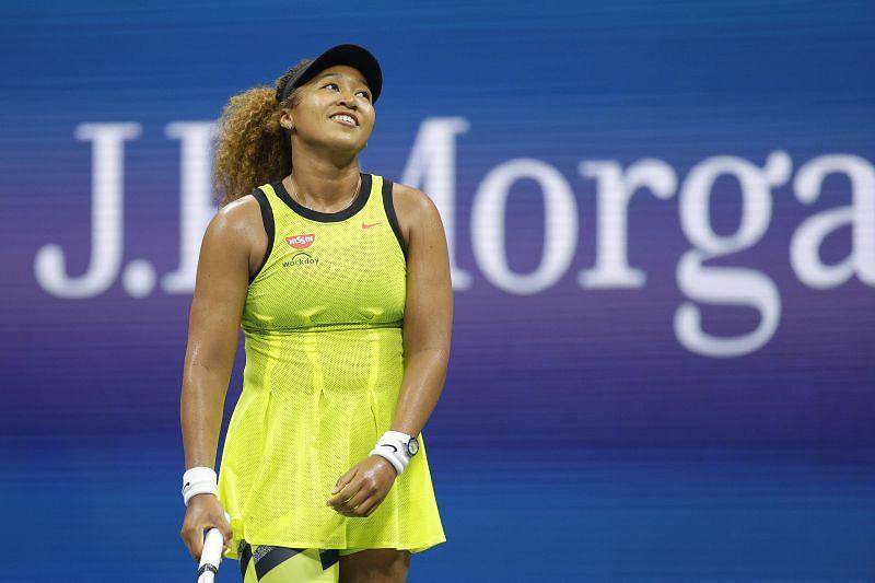 Naomi Osaka at the 2021 US Open.
