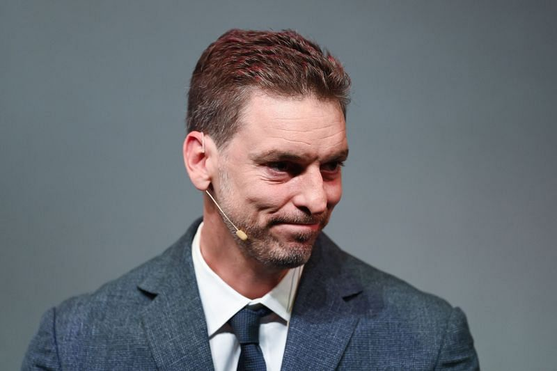 Pau Gasol announced his retirement at a press conference in Barcelona